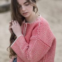 cardigan-woman-no4-red-model