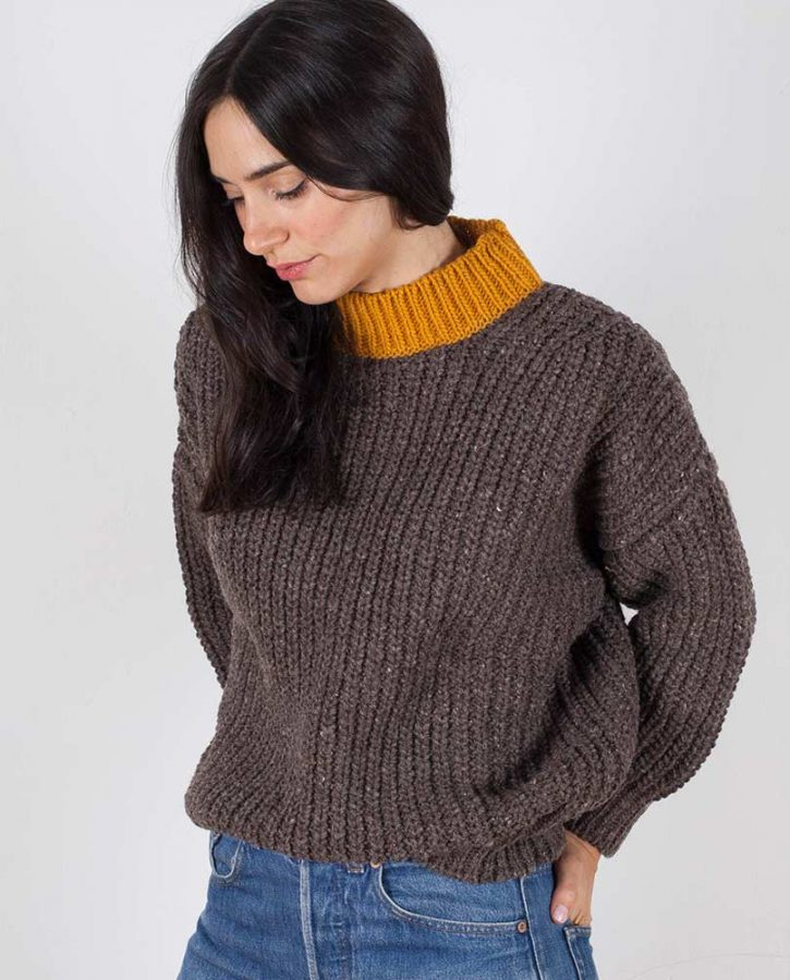 jumper-woman-no19-oversized-ochre-model-3