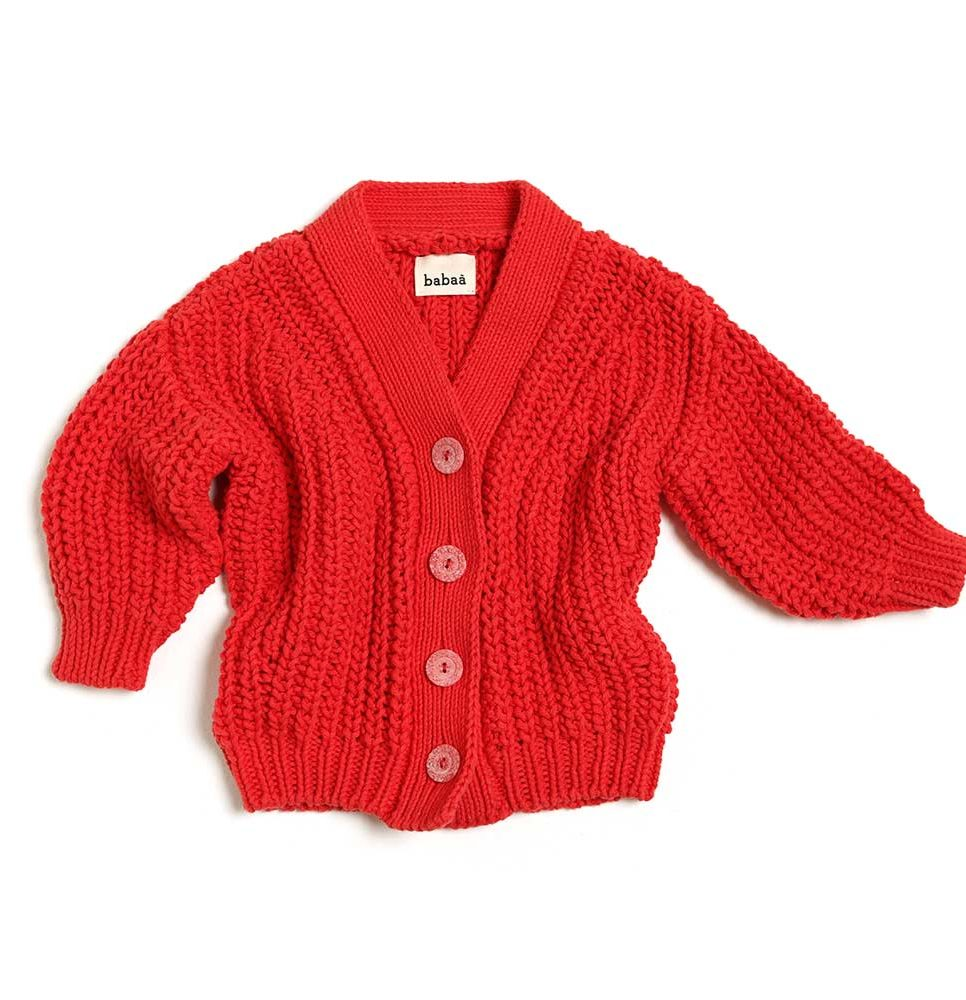 cardigan-no18-red-creased